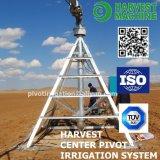 Оросительная система оси земледелия перемещая для сельскохозяйствення угодье