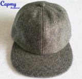 サテンの物質的な野球帽の帽子