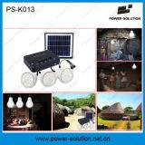 Mini sistema de painéis solares em casa com 11V 4W Painel Solar e carregador de telefone USB
