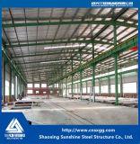 El profesional diseñó el almacén industrial prefabricado de la estructura de acero del bajo costo