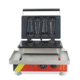 Minipenis-Luftblasen-Waffel, die Eisen-Kegel-Hersteller-Maschine Commerical herstellt