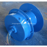 Dévidage de tambour de câble à ressort installé sur le mur
