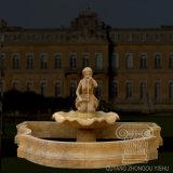 Напольной скульптура фонтана сада высеканная рукой средств каменная мраморный