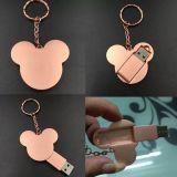 Disco instantâneo do USB de Mickey, mini movimentação do flash do USB, movimentação esperta do flash do USB