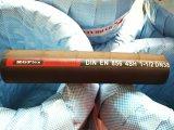 4 Fil d'acier spirale 1 Extra flexible en caoutchouc haute pression avec le flexible hydraulique de 1 pouce 4sh