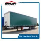 Lona de caminhão Lona de poliéster com revestimento de PVC tecido DE TOLDO