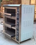 Équipement de cuisson industriel / professionnel / luxueux pour 3 plate-forme 9 Four à plateau électrique