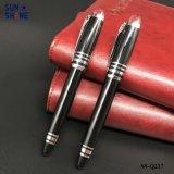 호화스러운 사업 금속 선물 펜은 롤러 펜을 매끄럽게 쓴다