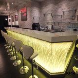 Kkr Surface solide translucide comptoir de réception Comptoir de Bar Haut de page