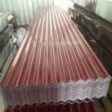 Plaque en acier ondulée galvanisée de la toiture Sheets/Gi Tile/PPGI de standard de qualité