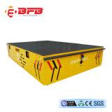 Elevadores eléctricos de alta eficiência Transporter Trackless carro no piso de cimento