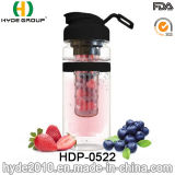 Популярная портативная пластичная бутылка вливания плодоовощ, 32oz BPA освобождает бутылку воды Infuser плодоовощ Tritan (HDP-0522)
