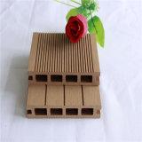 Plancher de verrouillage composé en plastique en bois imperméable à l'eau du Decking WPC de WPC