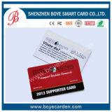 Version imprimable Carte VIP Membre personnalisée en plastique