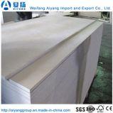 L'emballage de catégorie E1 contreplaqué de bois de placage de bouleau face peuplier de contreplaqué de base