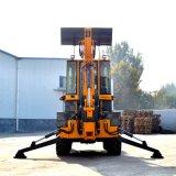 Multifunctionele Backhoe van de Macht van 1.0 Ton 60kw Lader