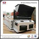 Alimentatore della griglia del vapore infornato carbone automatico orizzontale della caldaia di alimentazione con il tubo di fuoco dell'acqua