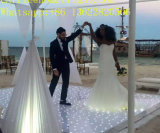 Le fil mariage populaire LED scintillantes étoilée Effet mosaïque du panneau de plancher de danse pour la vente