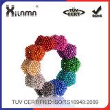 8 couleurs de balle super magnétique de néodyme de 5 mm