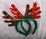 Hoofdband van Kerstmis van het Rendier van de Vacht van de Levering van de Partij van Kerstmis de In het groot