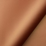 Кожа PU сатинировки Weave корзины искусственная для украшения ботинка мешка