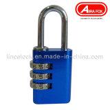 Combinaison de couleur alliage d'aluminium cadenas / serrure (527 -304)