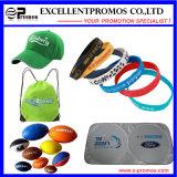 Wristbands e braccialetti di gomma su ordinazione del silicone (EP-S7101)