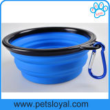 Ebay Amazonas heißes Verkaufs-Silikon-zusammenklappbare Haustier-Zufuhr-Hundefilterglocke