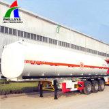 반 ISO Saso 3xles 50m3 석유 탱크 트레일러