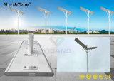 100W動きセンサーが付いている屋外の統合されたLEDの太陽街灯