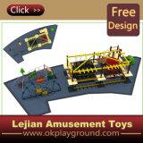 2016 Ce новая конструкция красочные парк детей игровая площадка (X1501-3 для установки вне помещений)