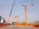 4t China Cer SGS-Turmkran Qtz5010 mit dem 50m Kranbalken