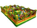 Aufblasbarer federnd Schloss-/Trampoline-Spielplatz