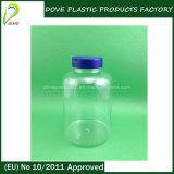bottiglia di pillola di plastica dell'animale domestico 500ml con la protezione della parte superiore di vibrazione