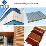 Piatto di tetto di alluminio ondulato rivestito del metallo di colore dell'azzurro di cielo del PE di 3000 serie