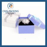 Contenitore di regalo blu dell'imballaggio della vigilanza di colore di stile fresco (CMG-PJB-097)