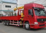 Venda quente 6X4 HOWO guindaste montado caminhão de 8 toneladas