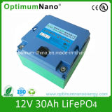 De navulbare 12V Batterij van de Batterij 12V 30ah LiFePO4 voor 400W Grasmaaimachine