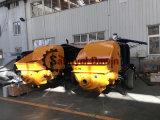 2018 montado en el remolque de piedra fina bomba Mini-Concrete
