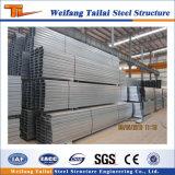 Correa galvanizada cinc del material de construcción de la estructura de acero