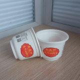 Copo plástico descartável direto do Yogurt da venda por atacado 10oz 280ml PP da fábrica com logotipo