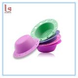 Портативный силиконового герметика стеклоомыватели скруббер макияж щетки очистителя коврик очистка чаши