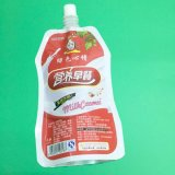 Fastfood- Tülle-Beutel-Kunststoffgehäuse für Saft