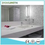 輝きの純粋で白いCalacuttaの水晶石の浴室の虚栄心のカウンタートップ