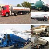 3 осей 45m3/10000галлонов топлива из алюминиевого сплава из углеродистой стали и цемента/порошка и дизельного топлива и бензина/ бензин/молока/битума/воды/СПГ/СНГ/резервуар для жидкости в автоцистернах Полуприцепе