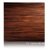 Fabricante de madera natural de los muebles de la cocina de la chapa del roble en Hangzhou, China