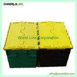 Contenitori di plastica sistemabili ed accatastabili di pacchetto della Cina del Virgin con il marchio