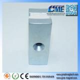 Het ijzer en de Magneet in een Permanente Magneet zijn Magnetische Metalen