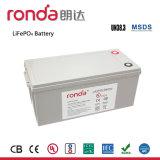 batteria di litio di memoria dell'alta energia di 12V 200ah (UL, CE, CB, Un38.3)