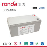 12V 200Ah высокой энергии литиевая батарея (UL, CE, CB, ООН38.3)